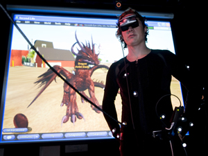 UCSD graduate student Micha Cardenas will spend 365 consecutive hours immersed in Second Life, an online, 3-D virtual world.