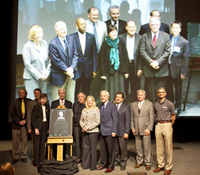 Calit2 founders and university leaders at UCSD and UCI honor former Gov. Gray Davis