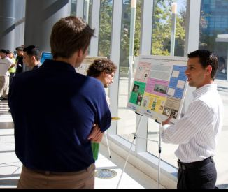 Summer Scholars poster session