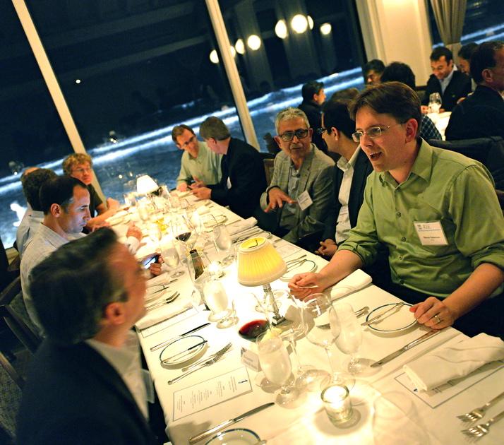 Steven Swanson at NVMW banquet