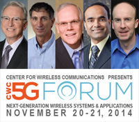 Keynote speakers at CWC 5G Forum