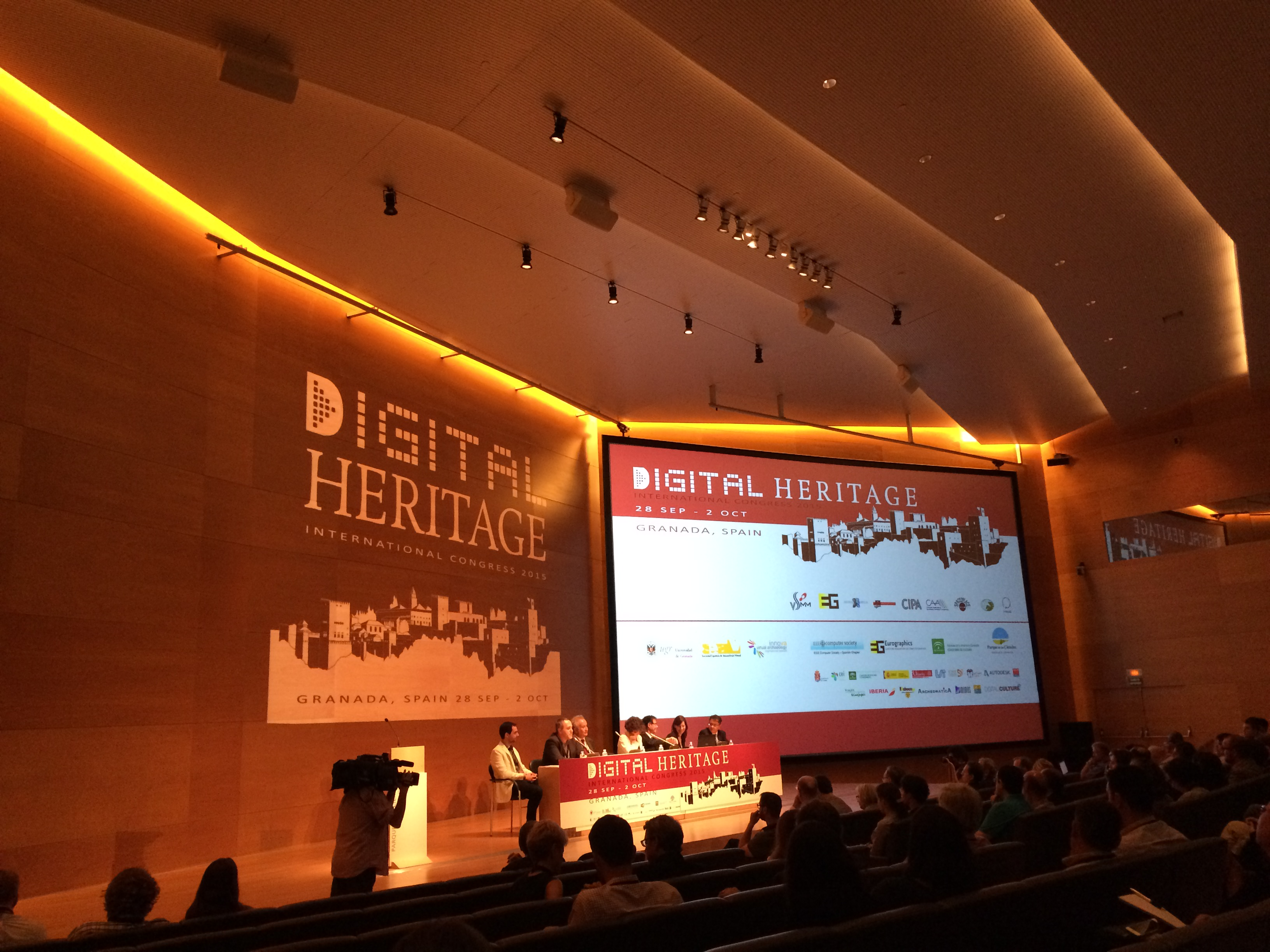 2015 Digital Heritage Conference in Granada, Spain