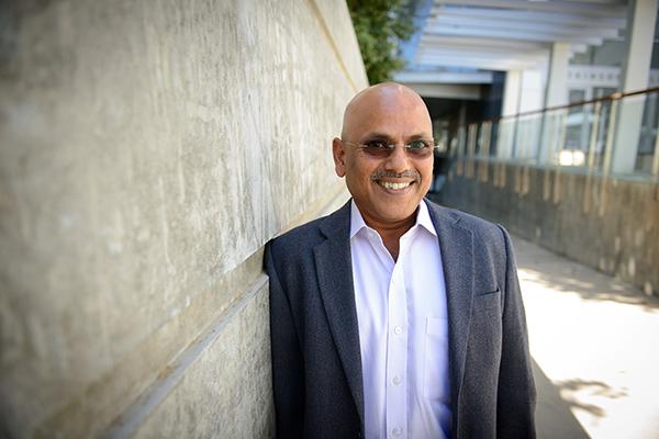 Qualcomm Institute research scientist Hari Garudadri leads the Open Speech Platform development team