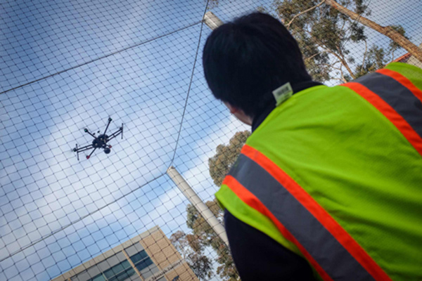 New aerodrome at UC San Diego helps researchers using UAVs.