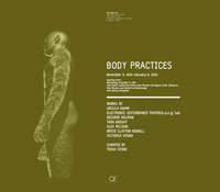Body Practices exhibition in gallery@calit2, Atkinson Hall, UCSD
