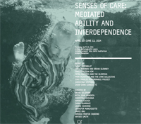Senses of Care exhibition in gallery@calit2