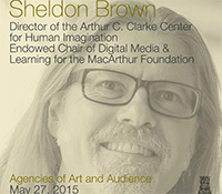 Sheldon Brown, Director, Clarke Center for Human Imagination at UC San Diego