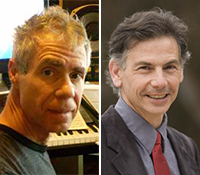 SDSU composer Joseph Waters (left) and UCSD librettist Allan Havis