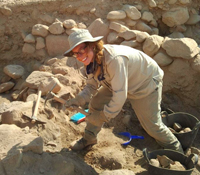 CURI intern and Calit2 Scholar Lillian Wakefield in Jordan